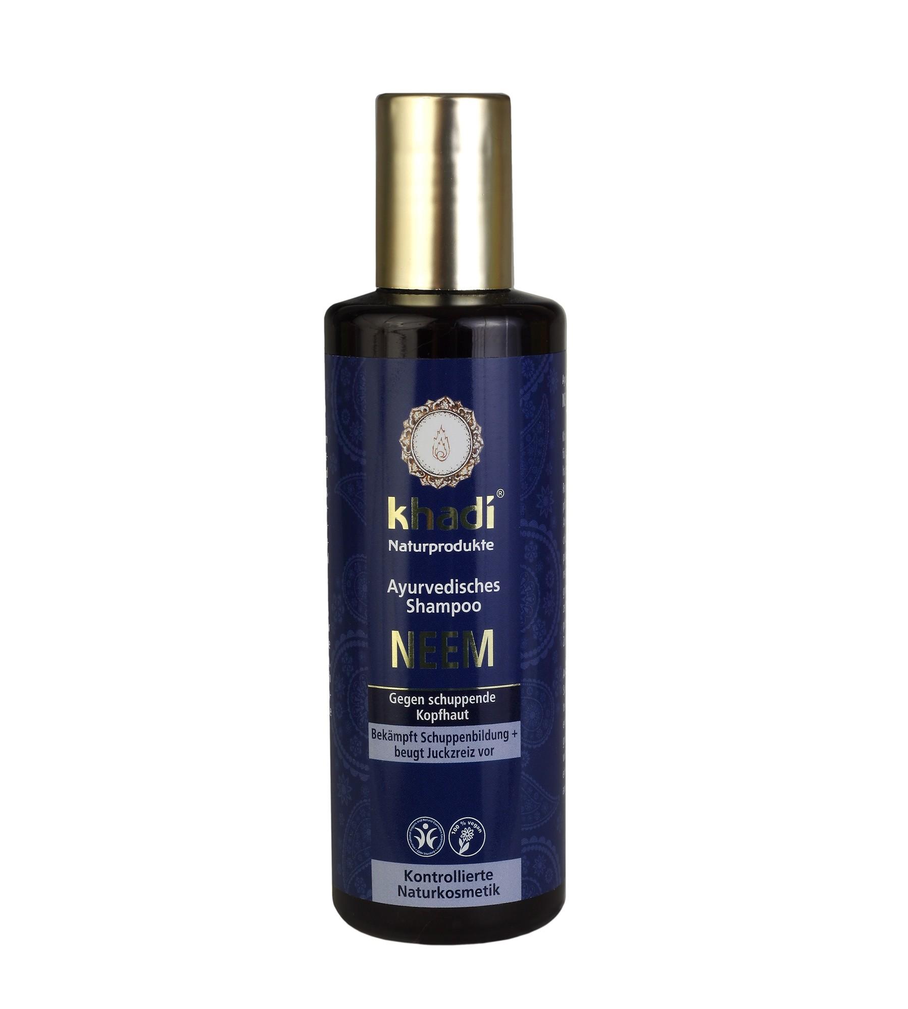 Khadi Neem Ayurvedic Shampoo -Anti-Dandruff
