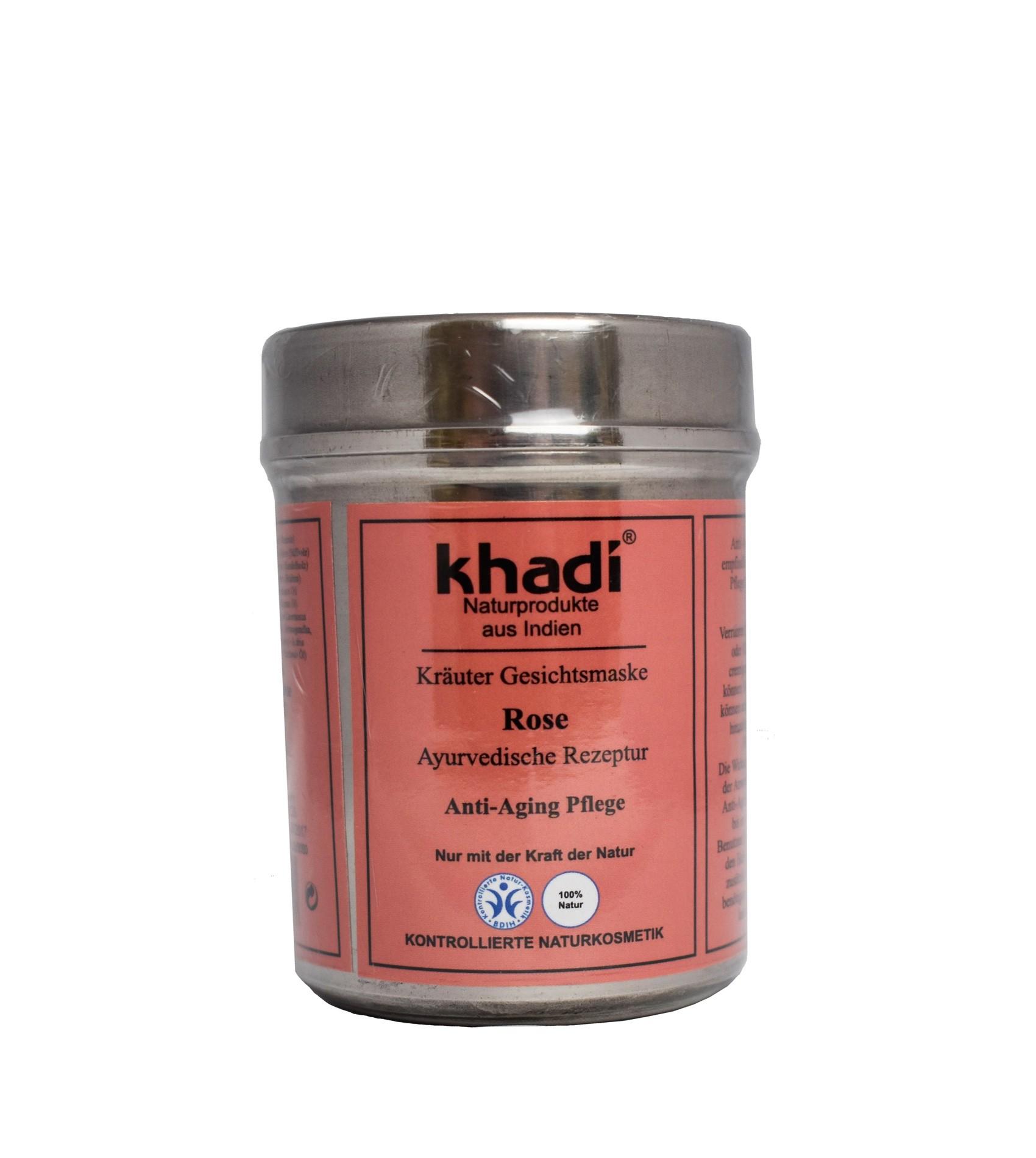 Khadi Herbal Face Mask Rose Petals