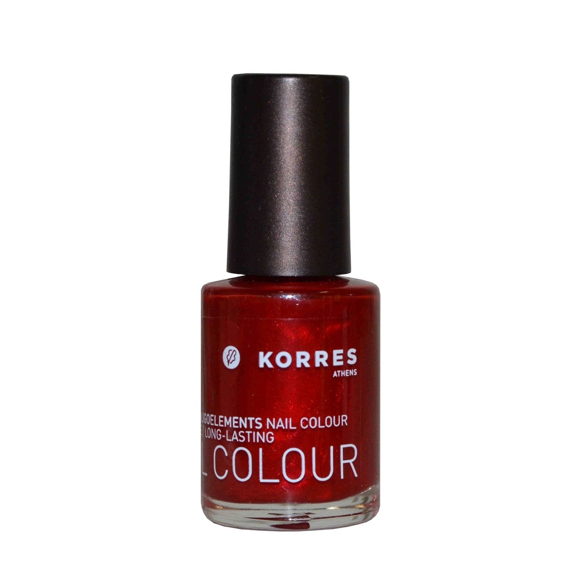 Korres Nail Color High Shine Metallic Red 56