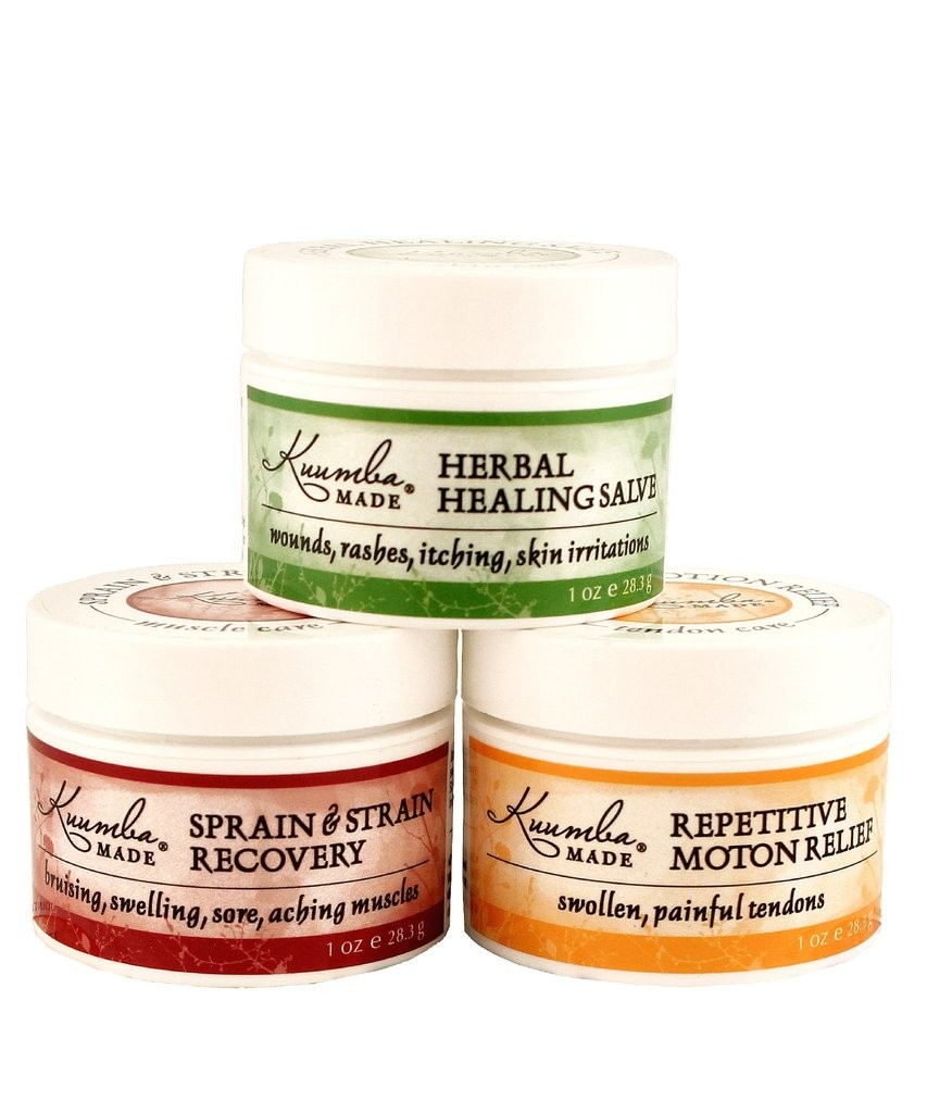 Kuumba Made Herbal First Aid Triple Relief Travel Kit