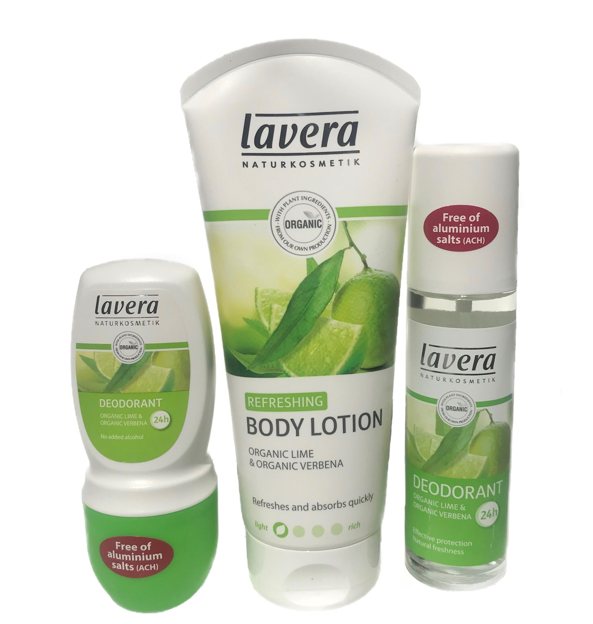 Lavera Refreshing Lime & Verbena Body Set