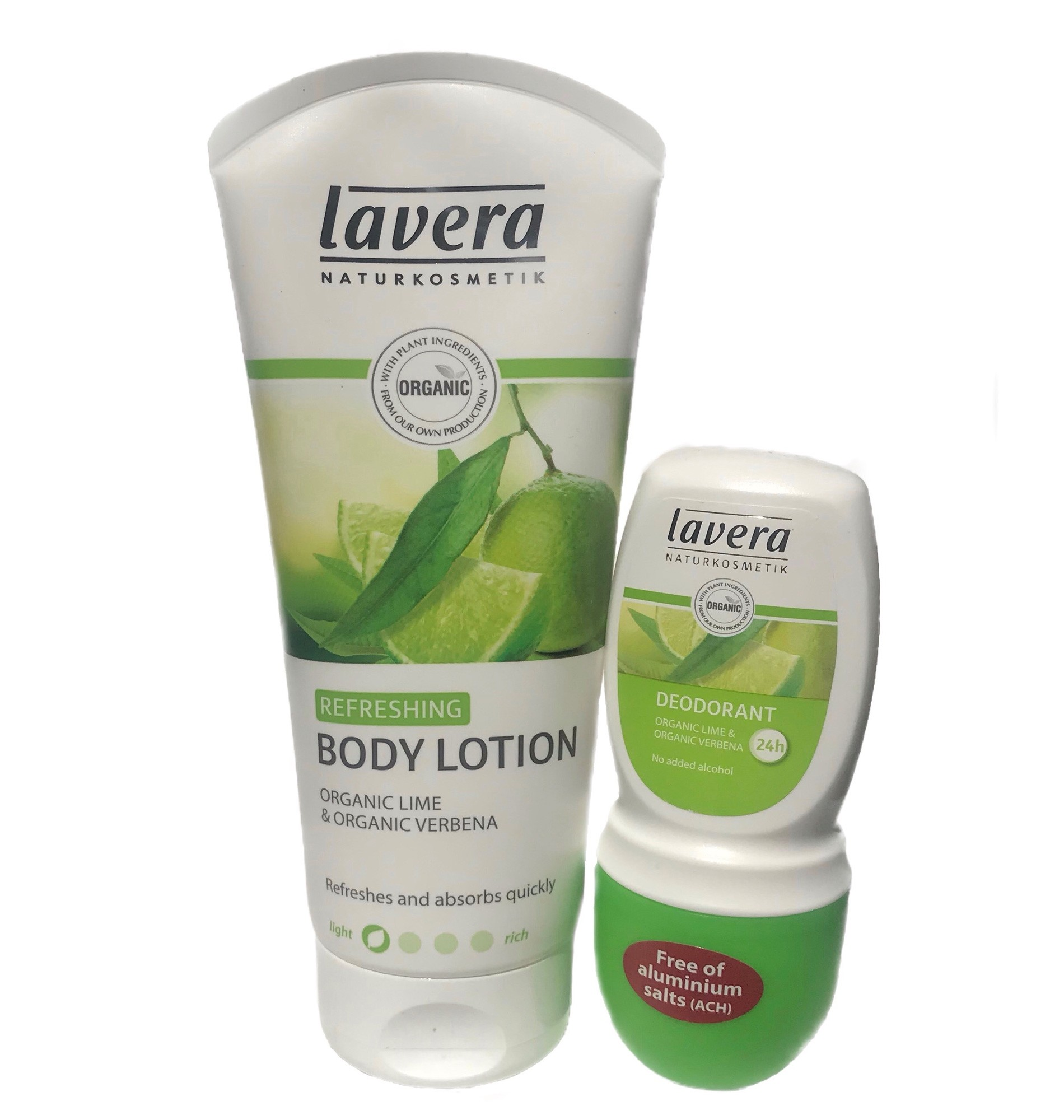 Lavera Refreshing Lime & Verbena Lotion & Deodorant