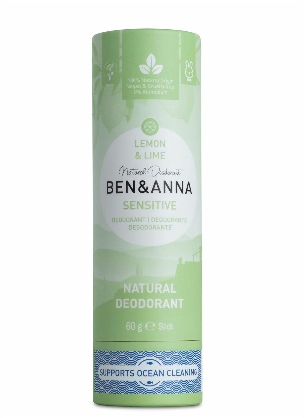Ben & Anna Sensitive Lemon & Lime