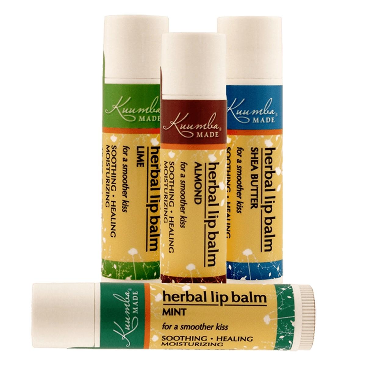 Kuumba Made Organic Flavoured Herbal Lip Balm
