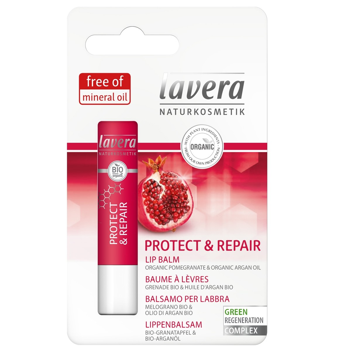 Lavera, Organic Lip Balm Repair