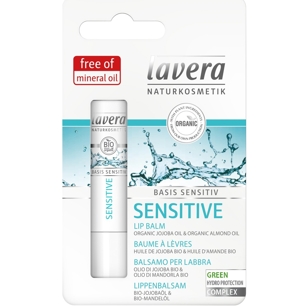 Lavera Organic Lip Balm Basis Sensitive
