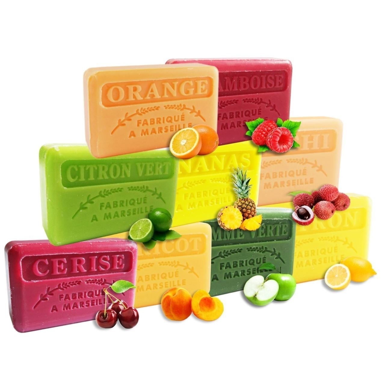 Natural French Marseille Soap 100g
