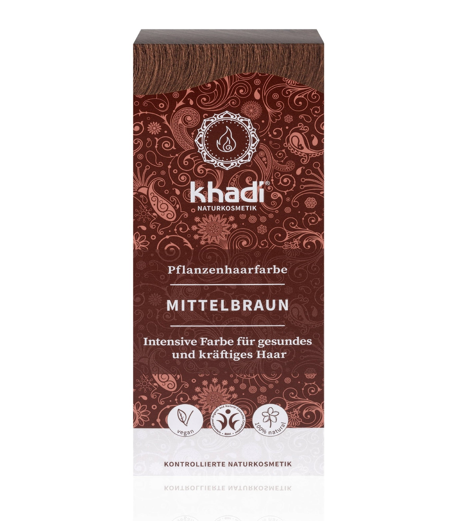 Khadi Herbal Hair Colour Medium Brown