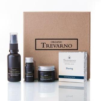 Organic Trevarno Shaving Gift Set