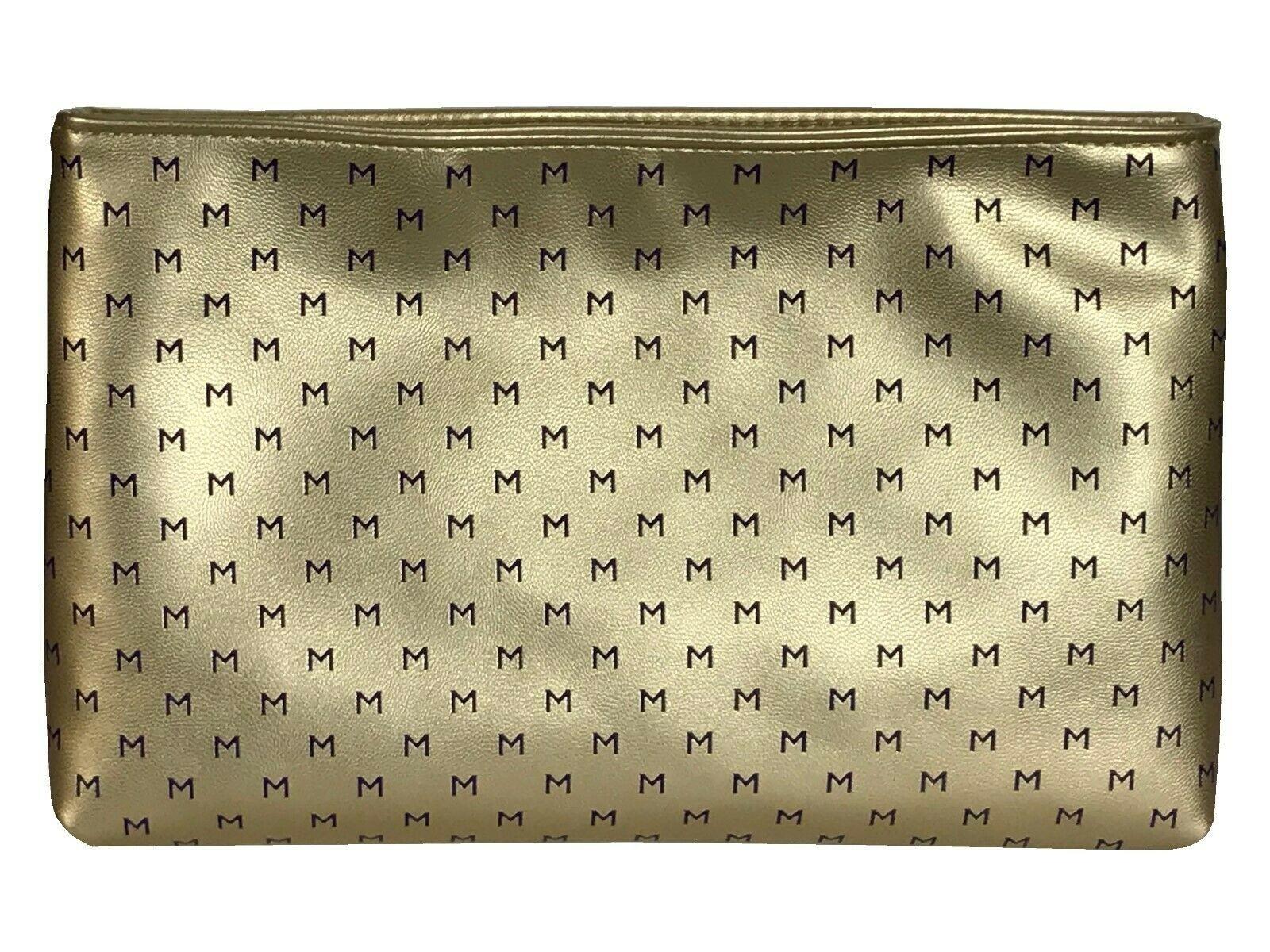 Thierry Mugler Make Up Travel Bag Gold