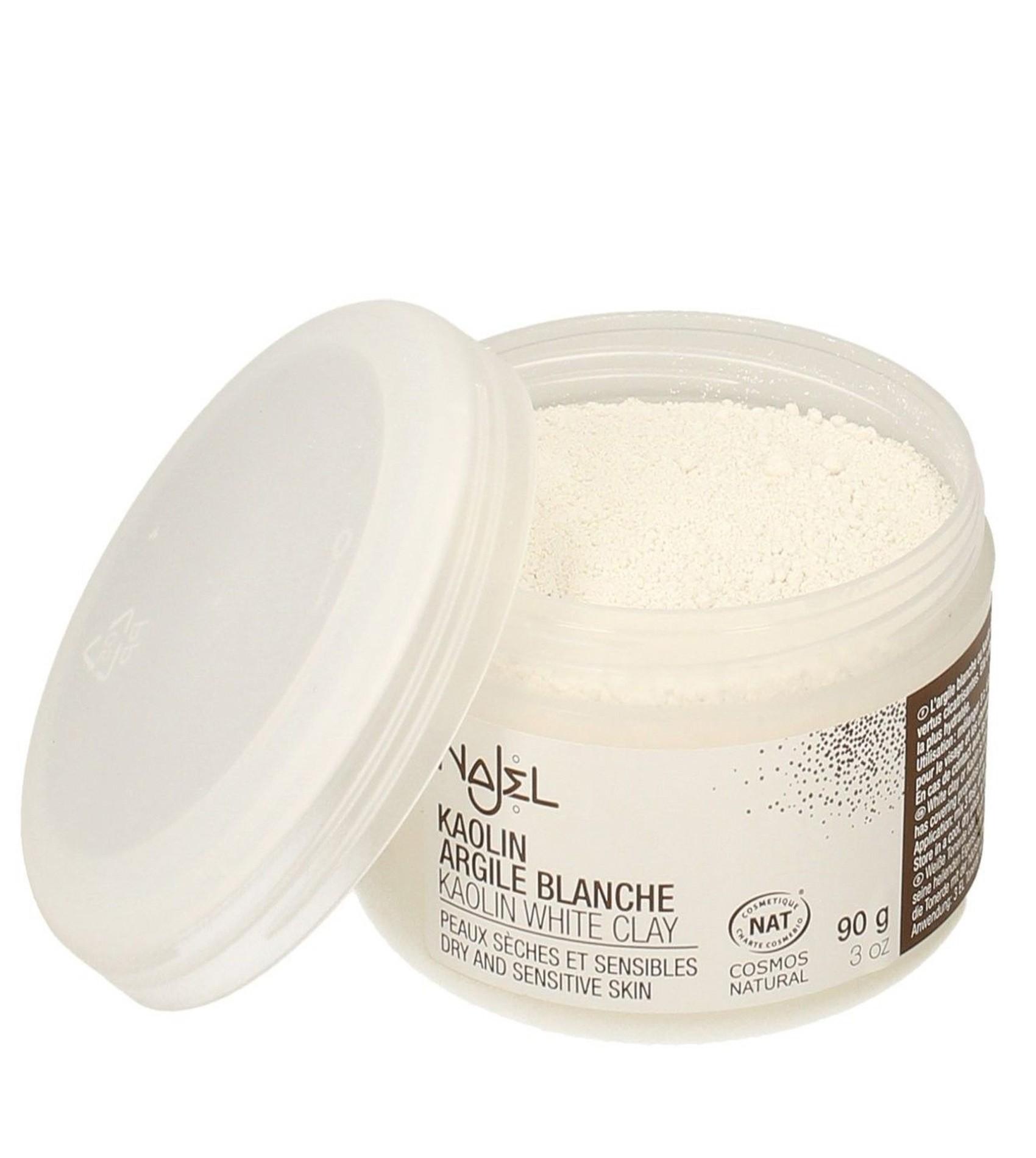 Najel Kaolin White Clay Powder Certified Organic