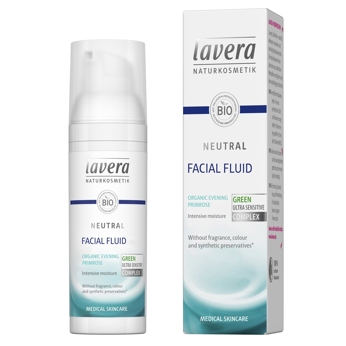 Lavera Neutral Moisturiser Facial Fluid