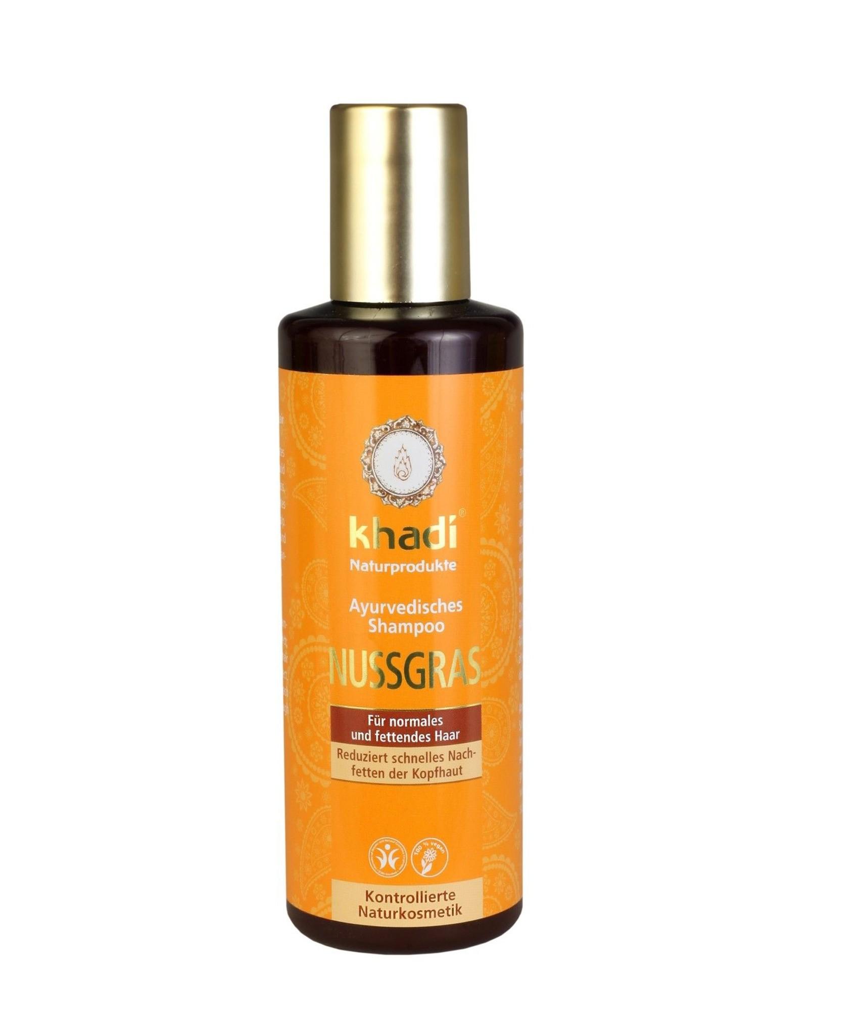 Khadi Nutgrass Ayurvedic Shampoo & Conditioner - Oily