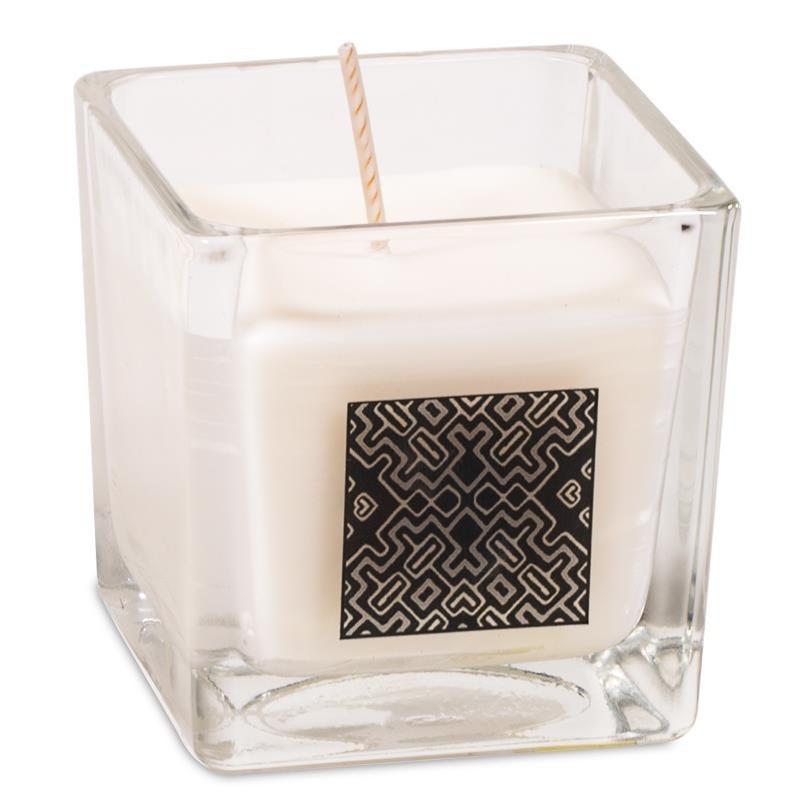 Palo Santo Scented Candle & Glass Jar