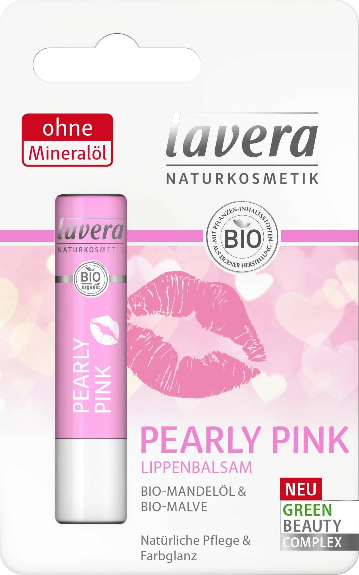 Lavera Pearly Pink Lip Balm