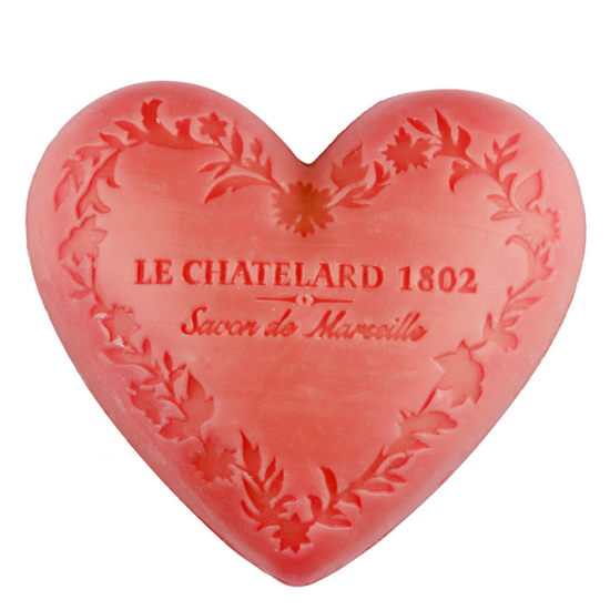 Le Chatelard 1802 Marseille Heart Shaped Soaps