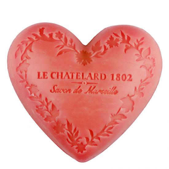 Le Chatelard 1802 Marseille Heart Shaped Soaps