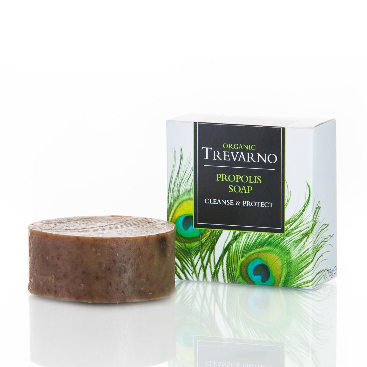Organic Trevarno Organic Propolis Soap