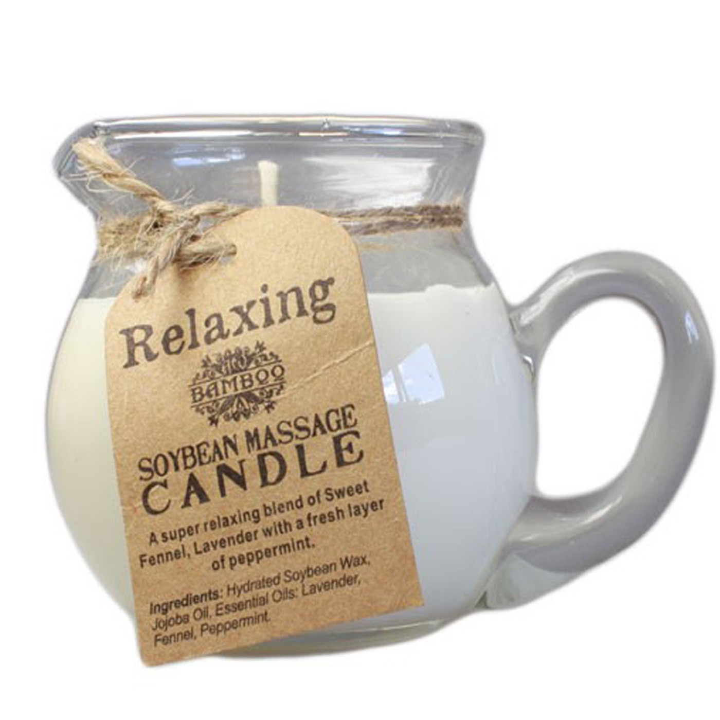 Relaxing Aroma Massage Candle