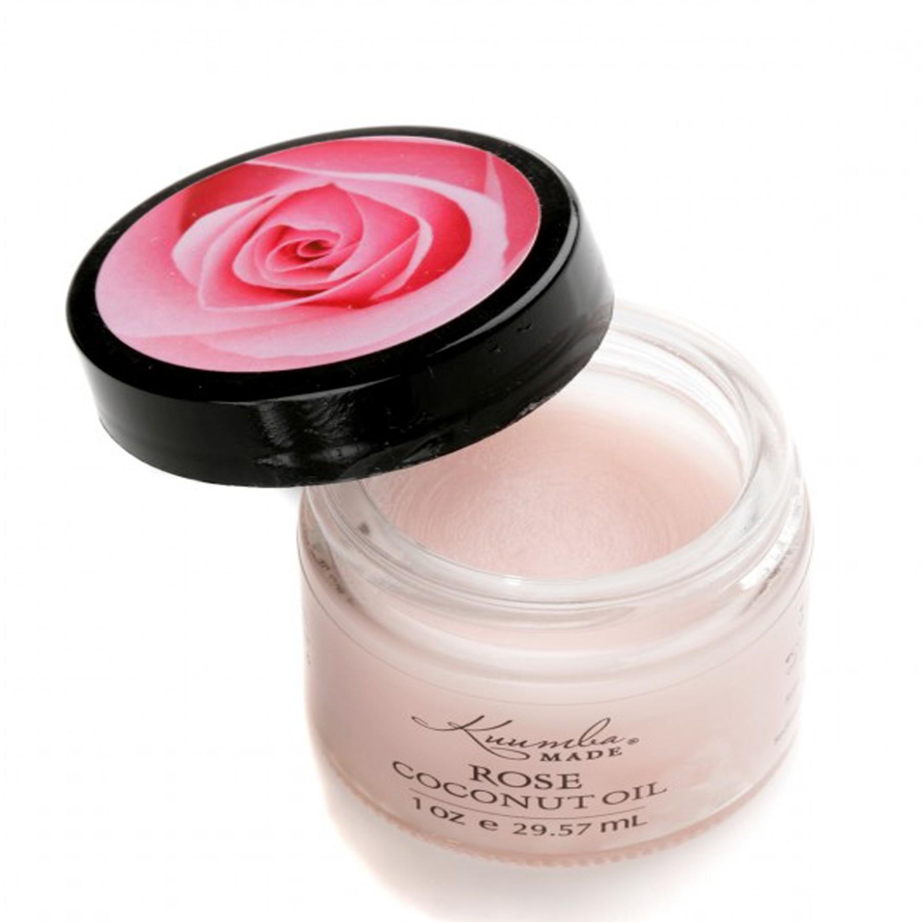 Kuumba Made Organic Rose Coconut Oil
