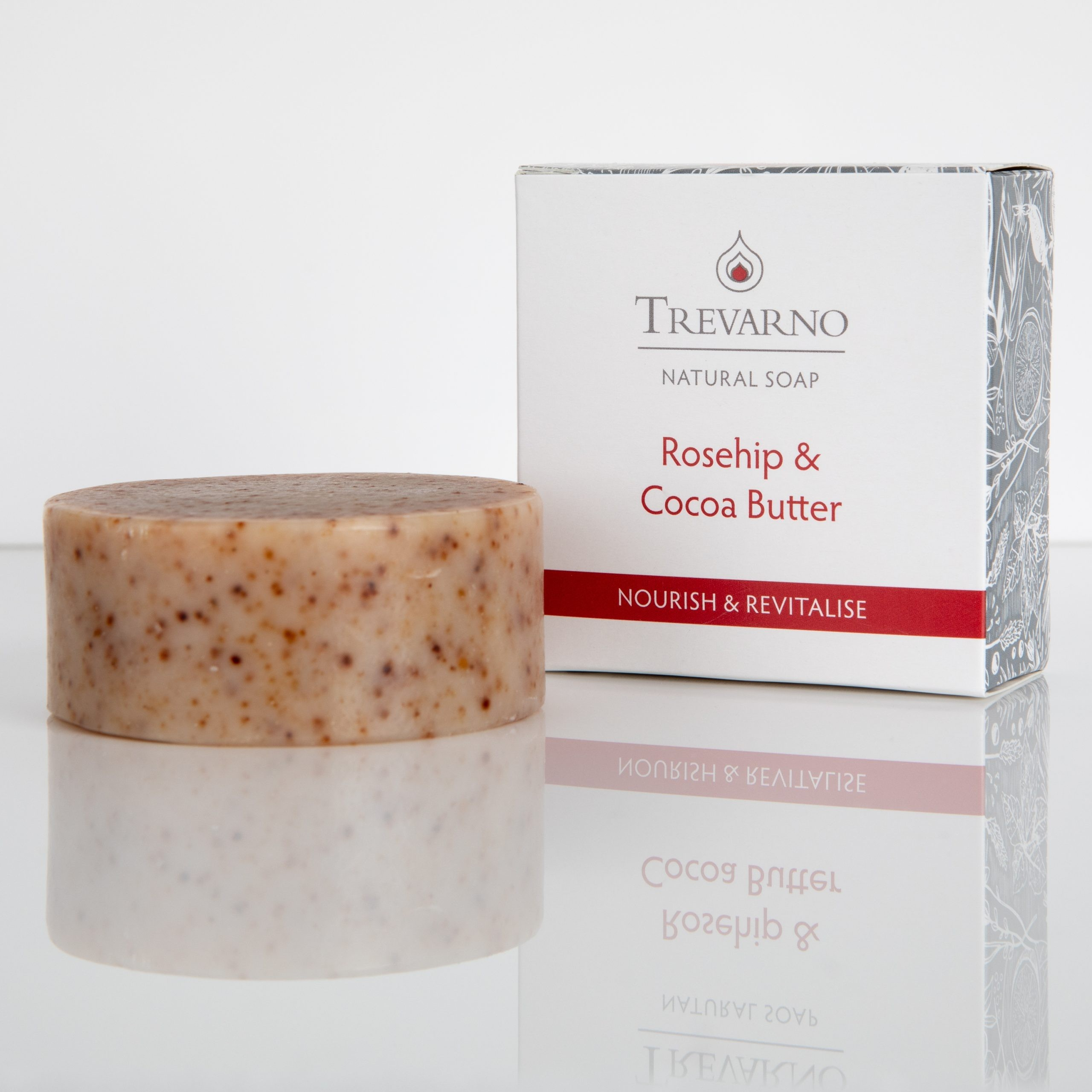 Trevarno Rosehip & Cocoa Butter Soap