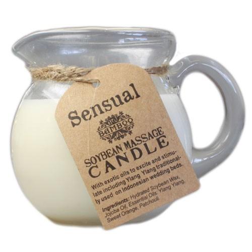 Sensual Aroma Massage Candle