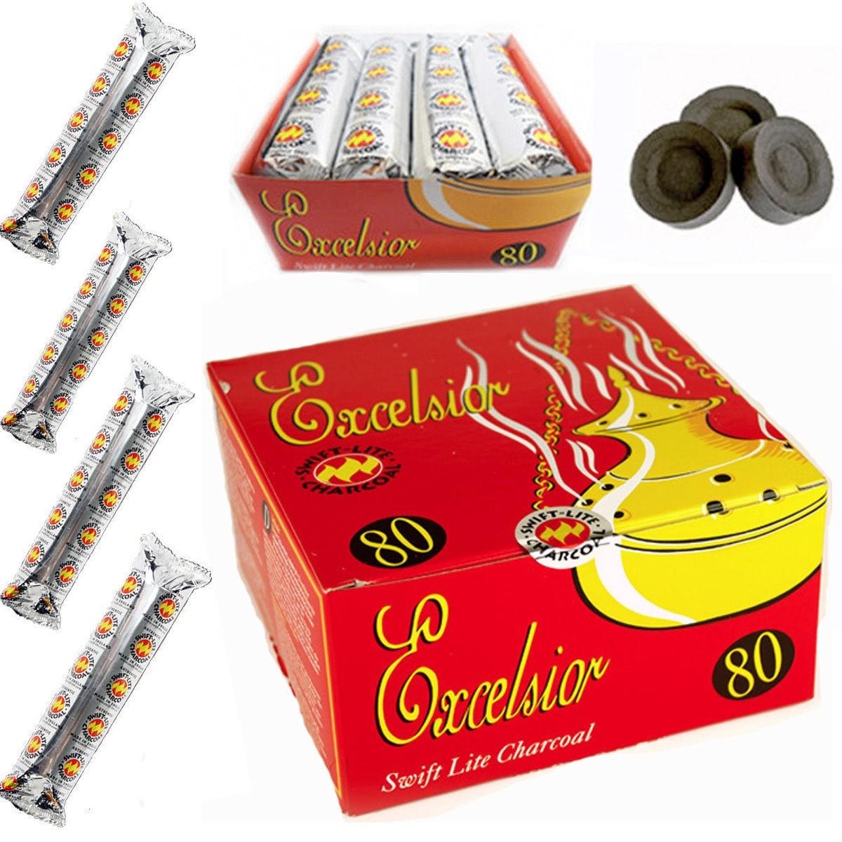 Excelsior Swift-Lite Charcoal Tablets