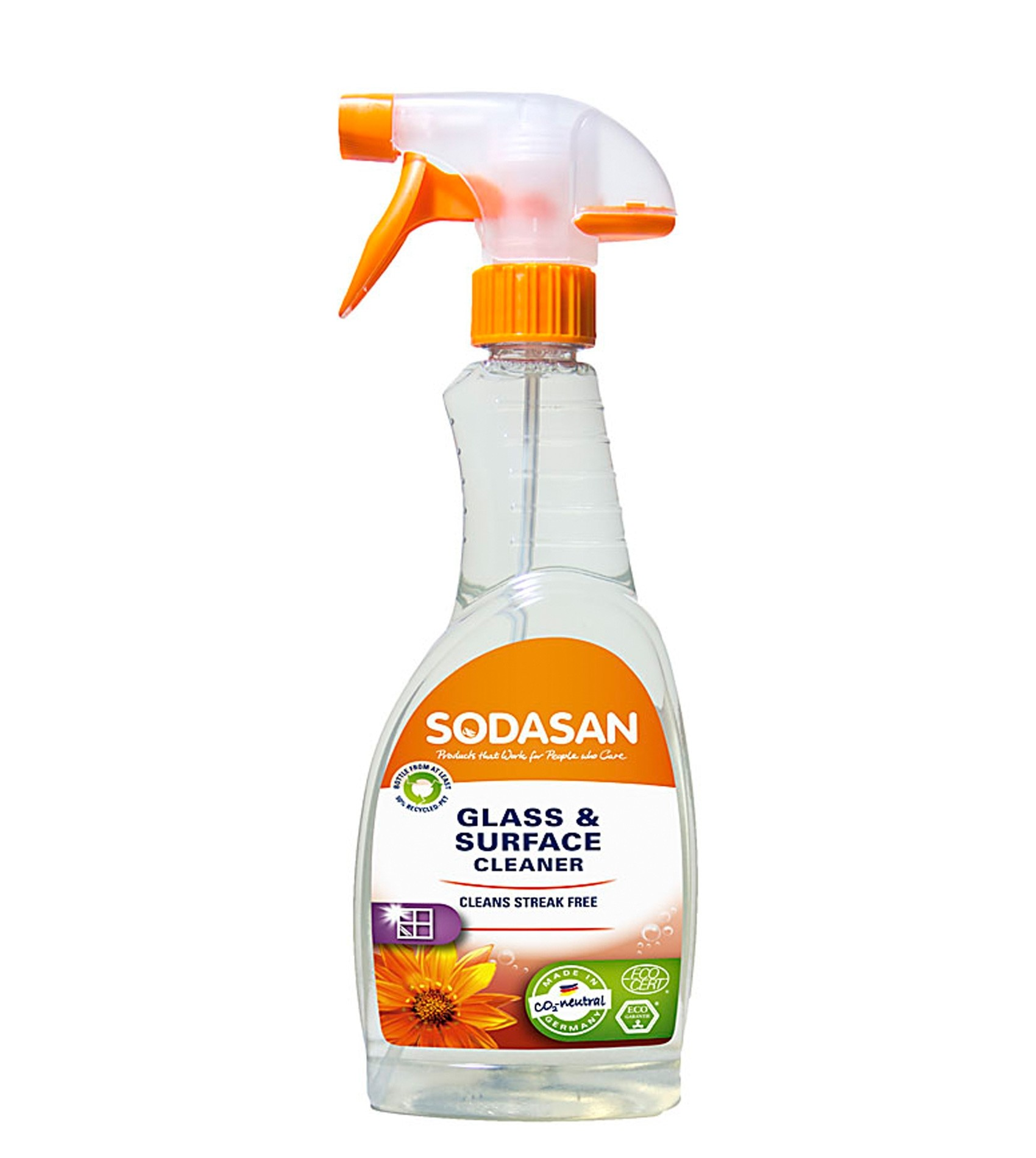 Sodasan Glass and Surface Cleaner