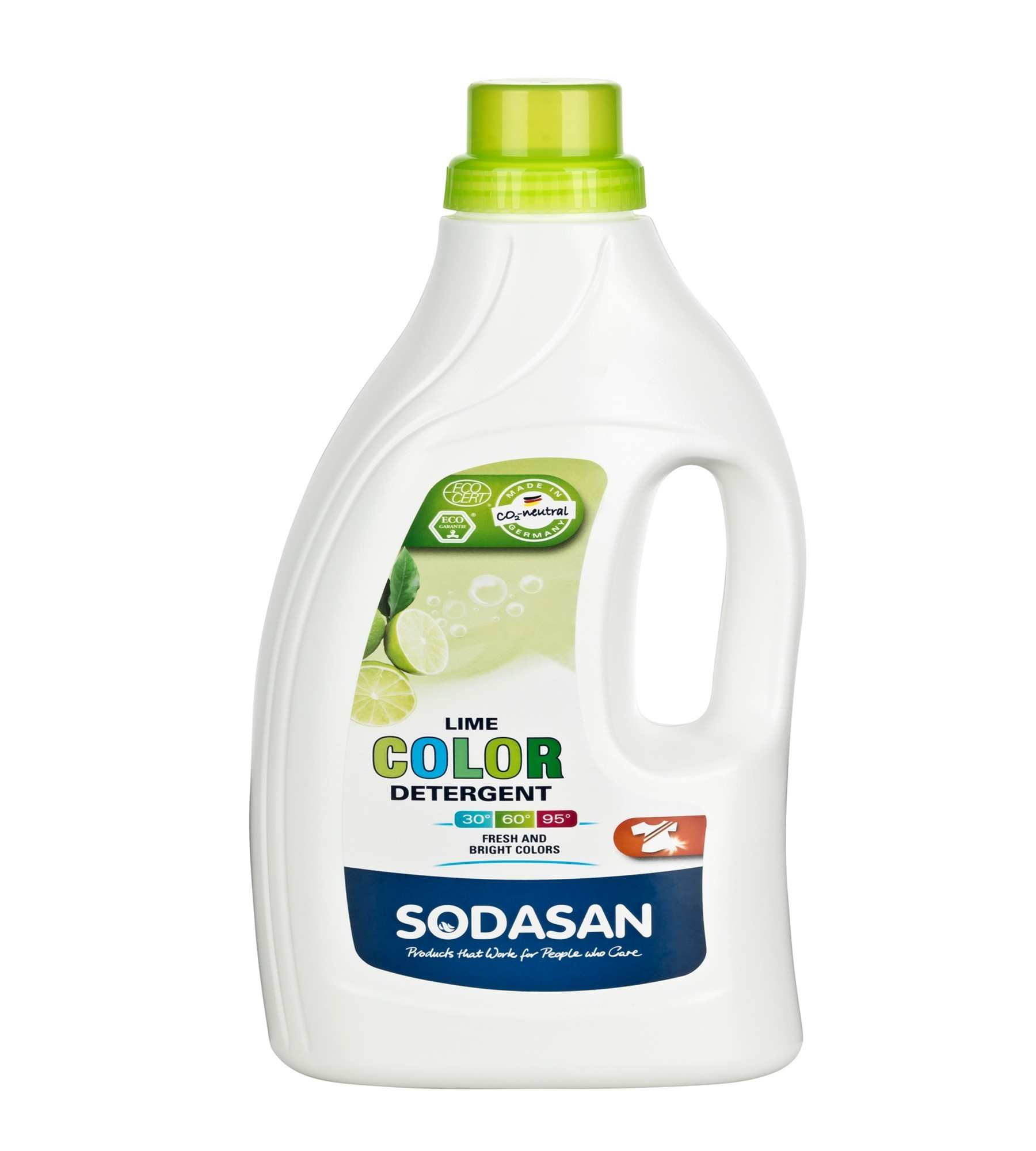 Sodasan Ecological Colour Detergent Lime