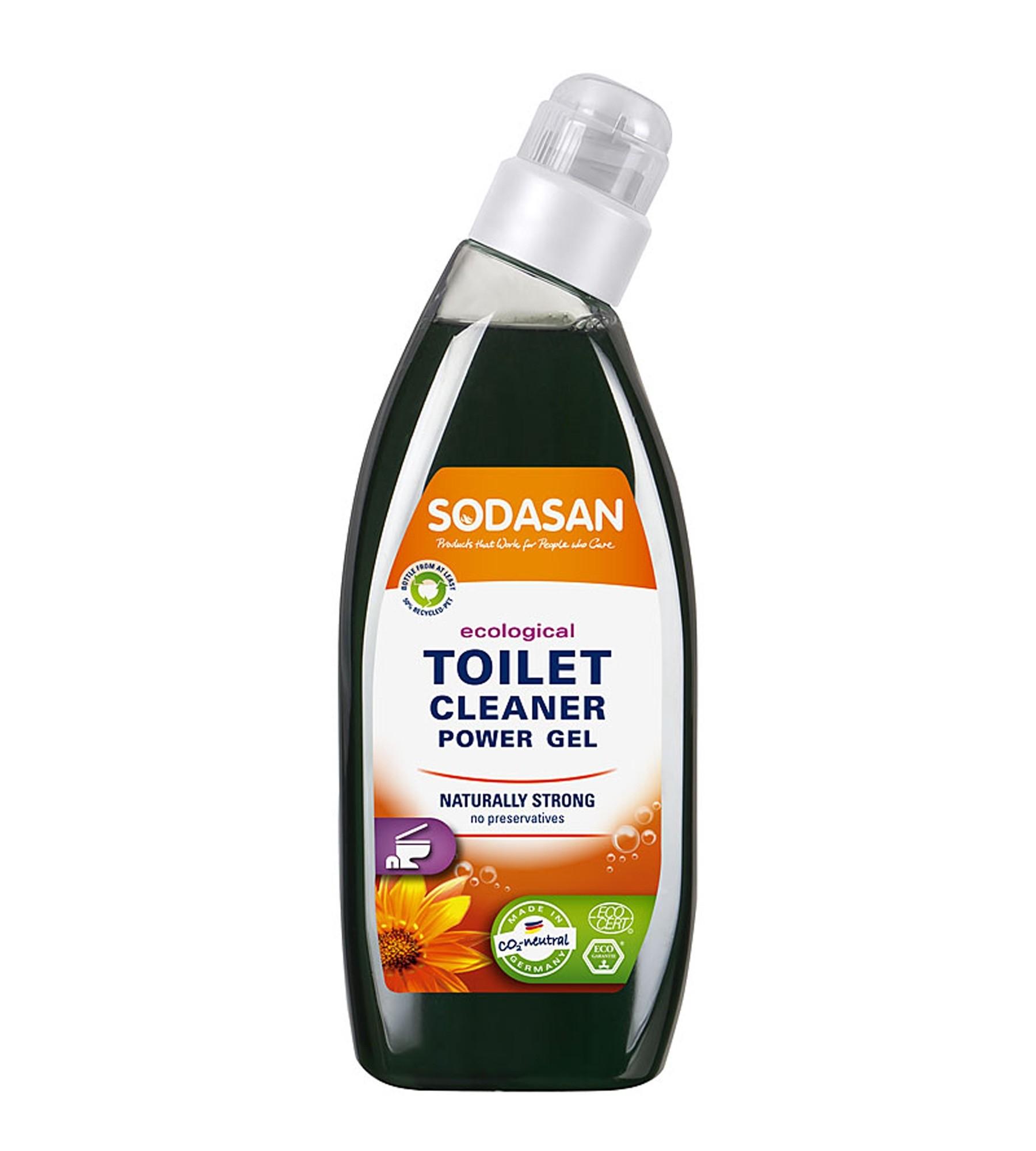 Sodasan Toilet Cleaner Power Gel