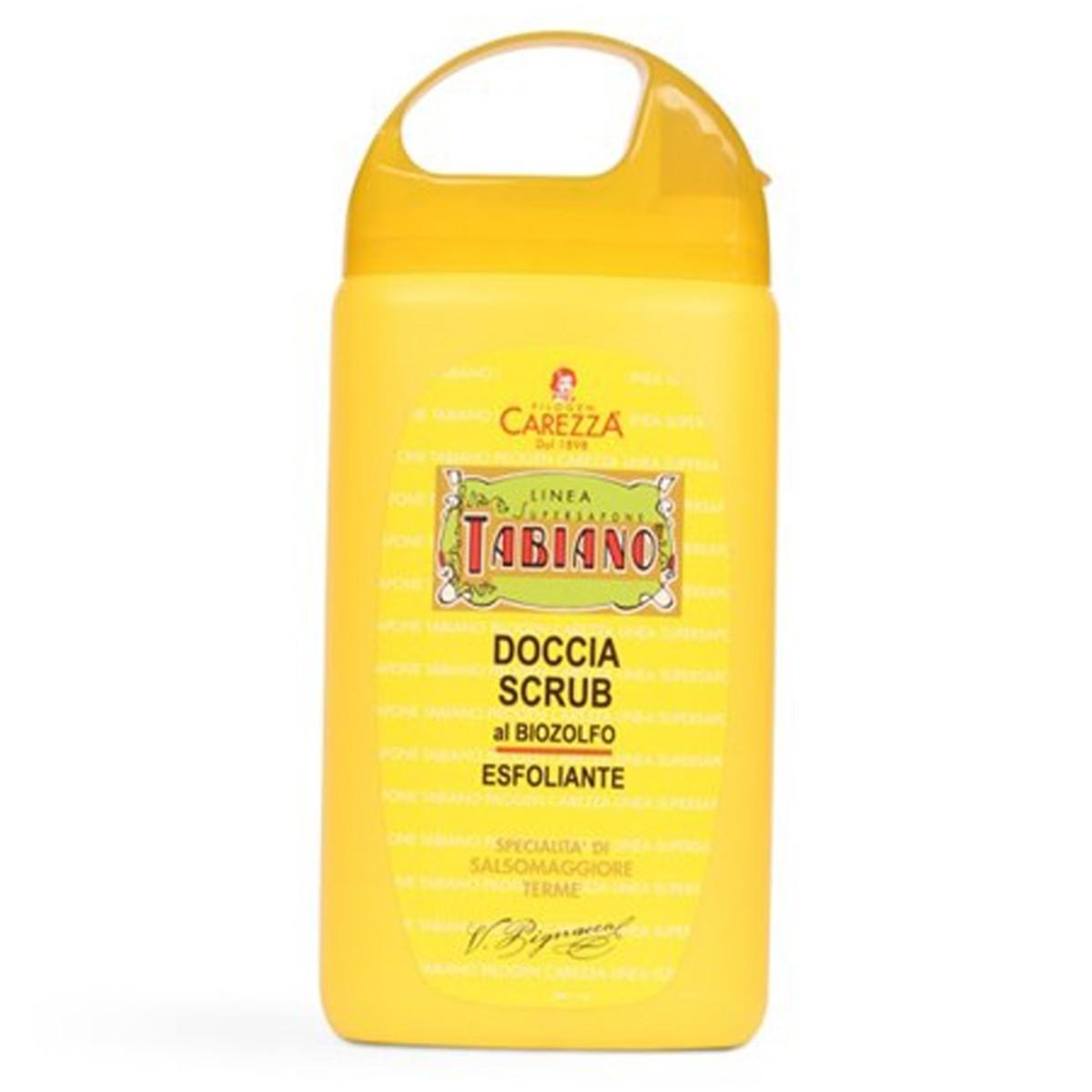Tabiano Organic Sulphur Shower Scrub