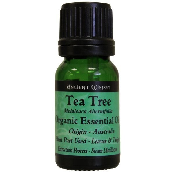 Ancient Wisdom Pure Organic Essential Oil 10ml -teatree