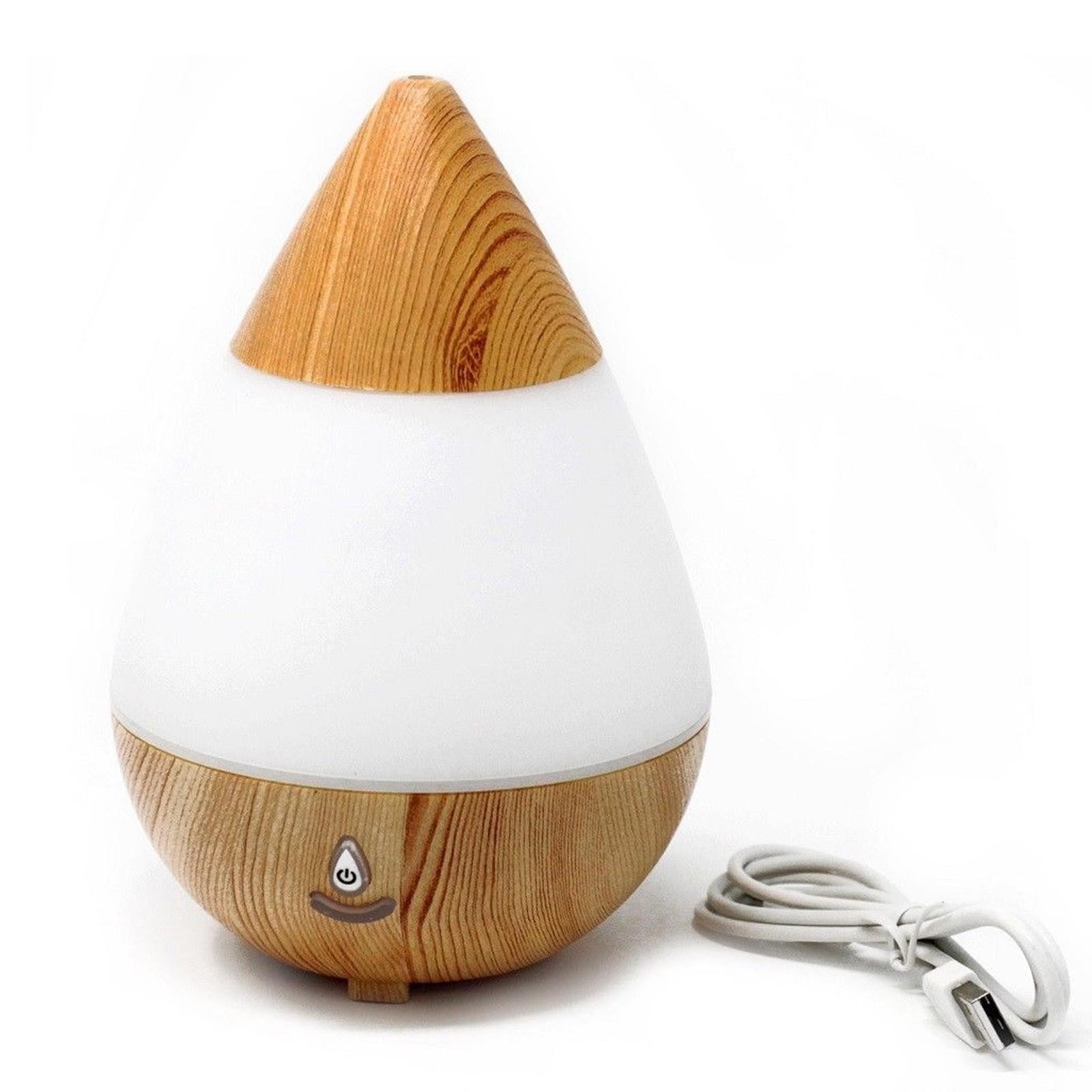 Teardrop Aroma Diffuser USB & LED Colours
