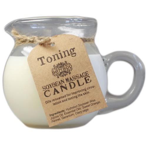Toning Aroma Massage Candle