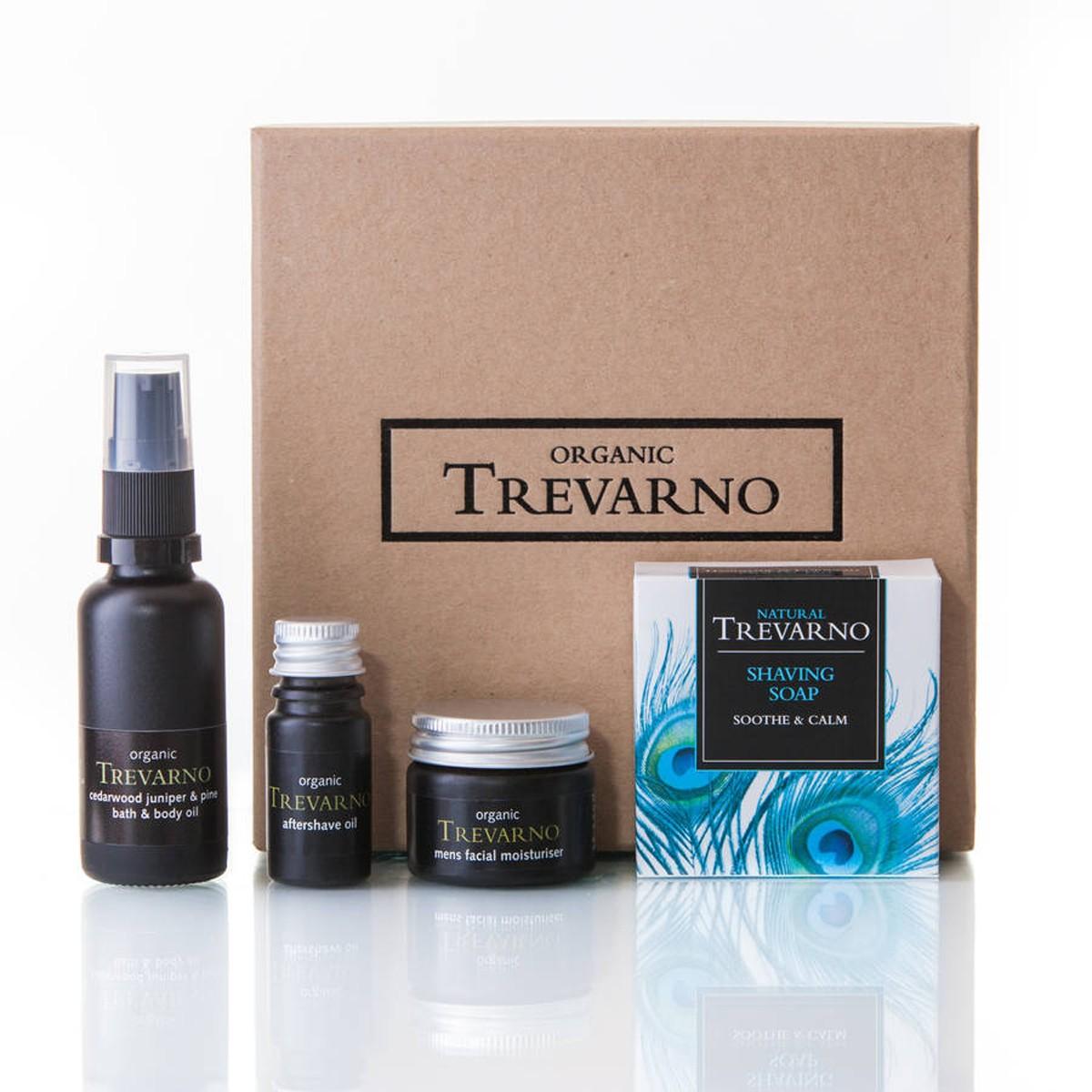 Organic Trevarno Men's Shaving Gift Set