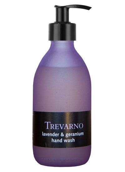 Organic Trevarno Rose & Geranium Hand Lotion-250ml