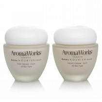AromaWorks Nourish Day & Night Cream Set