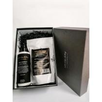 Natural Spa Factory Fig & Vanilla Hand Cream & Body Scrub Gift Set