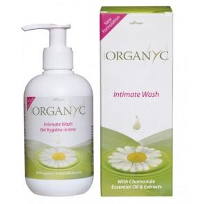 Organyc Intimate Wash with Chamomile