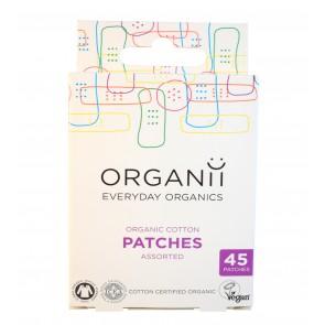 Organii Organic Vegan Cotton 45 Patches Mixed Sizes