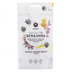 Ben & Anna Shower Gel Tablets Velvet 120g