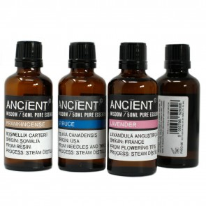Ancient Wisdom Pure Essential Oils 50ml