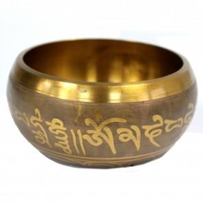 Large Five Buddha Singing Bowl