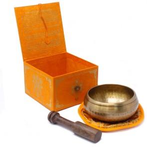 Five Buddha Singing Bowl Set
