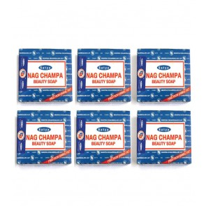 Nag Champa 6 Beauty Soaps