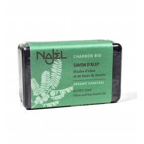 Najel Aleppo Soap Organic with Charcoal