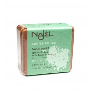 Najel Aleppo Soap Red Clay