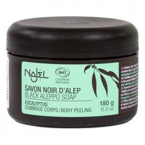 Najel Aleppo Black Soap Eucalyptus Body Peeling