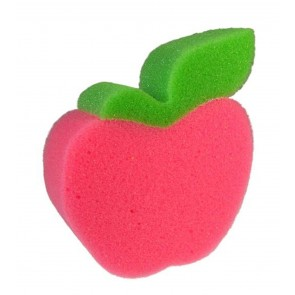 Bath Shower Red Apple Fruit Shaped Sponge