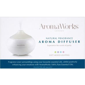 Aromaworks Electric Diffuser Colour Change Soft Mood Lightening
